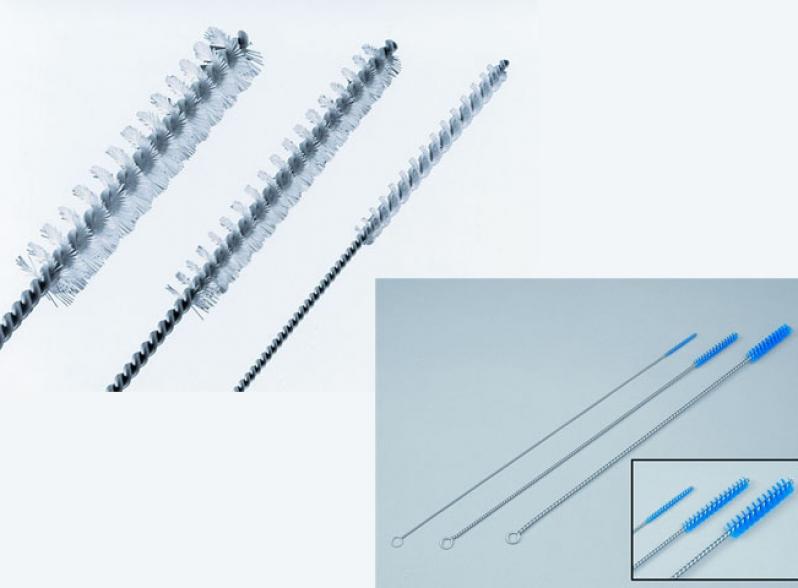 Escovas para limpeza de canulados haste  rígida - stiff line